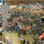 Inside of Cabela's store